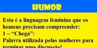 linguagem feminina