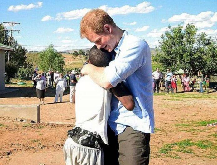 Príncipe Harry convidou um órfão africano