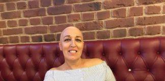 saber que a mãe tem cancro