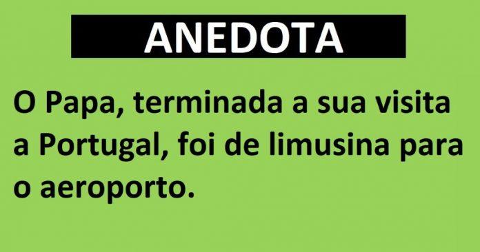 visita a Portugal - ANEDOTA