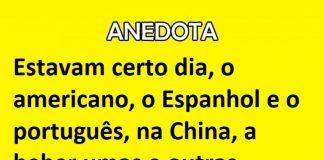 o americano, o espanhol e o português