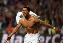 corpo de Ronaldo tem 20 anos