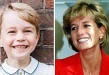 sorriso do príncipe George