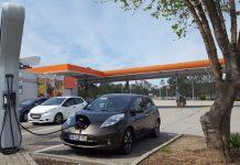 Carregamento de carros eléctricos