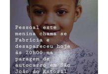 Criança desaparecida em Cascais