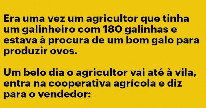agricultor que tinha um galinheiro