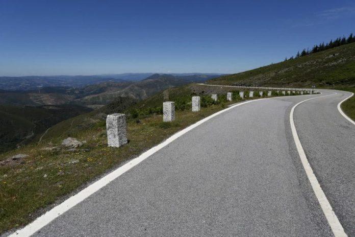 milhares de quilómetros de estradas