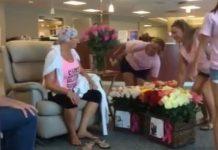 último dia de quimioterapia