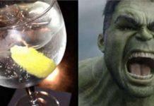 Gin torna as pessoas mais agressivas