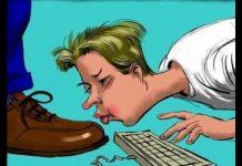 """37% dos funcionários são """"lambe-botas"""""""