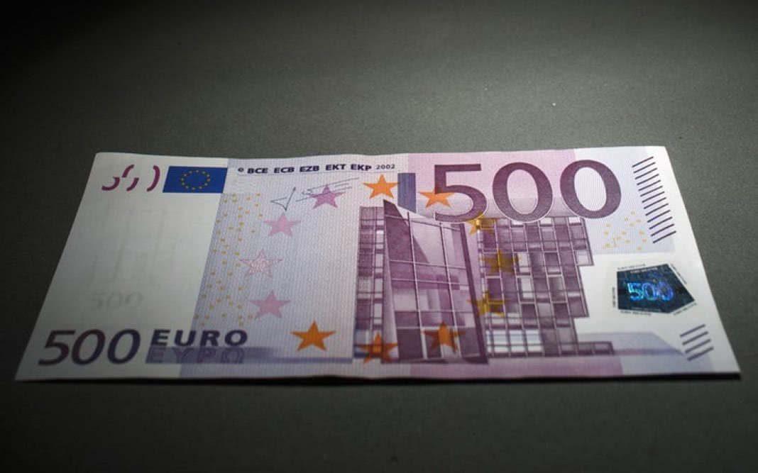 Notas de 500 euros vão sair de circulação