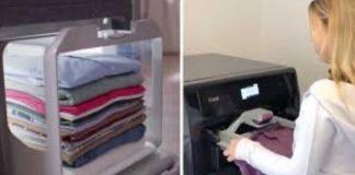 reservar a nova máquina que lava passa e perfuma