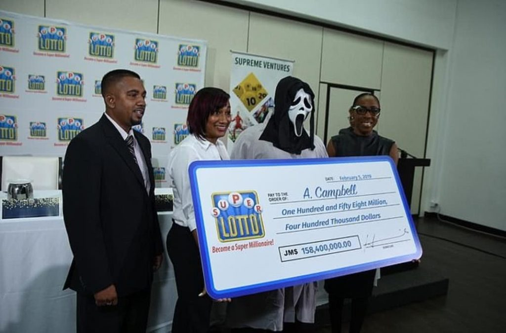 Ganhou 1 milhão na lotaria