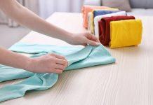 dobrar roupas prolonga a vida