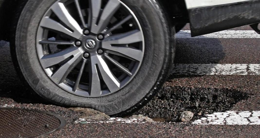 Estragaste um pneu na via pública