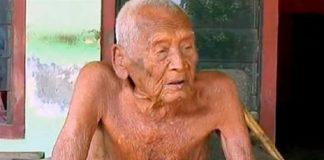 homem na Indonésia com 145 anos
