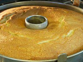 Deliciosa receita do bolo de leite condensado