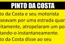 Pinto da Costa e o seu motorista