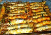suculentas sardinhas assadas no forno