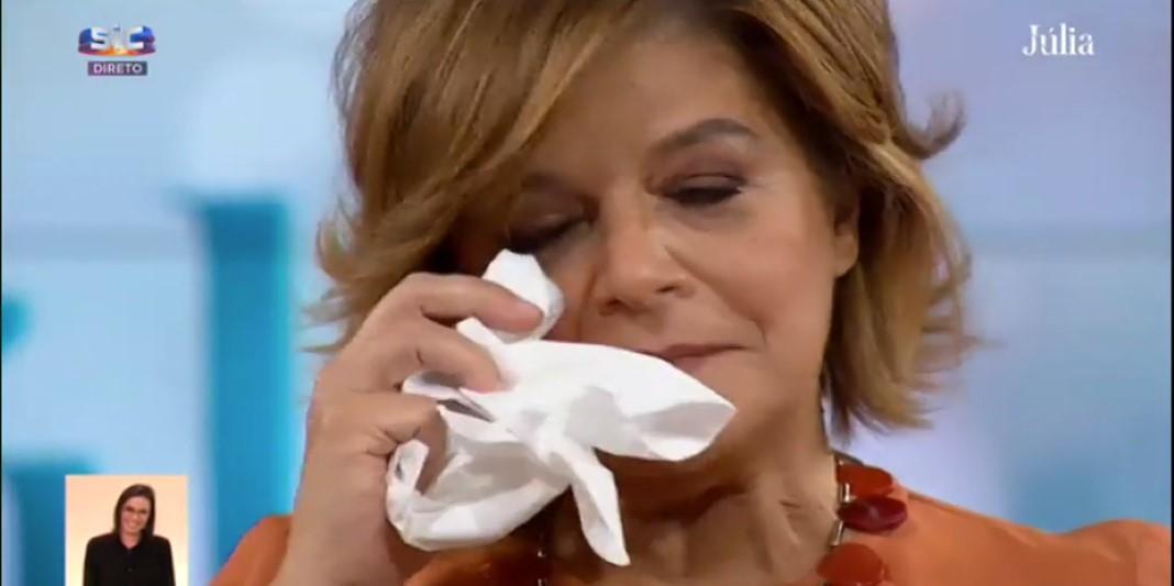 Júlia Pinheiro agradece a declaração de amor