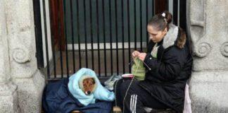 Fui filha de uma sem-abrigo