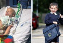 Menino de 5 anos com cancro