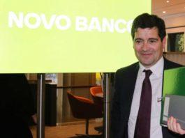 Presidente do Novo Banco é aumentado