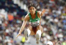 Patrícia Mamona vence triplo salto