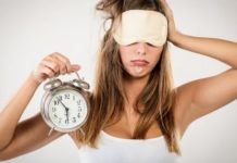 Quanto menos dormes