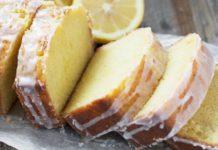 Bolo de limão muito macio