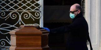 funerais em Itália