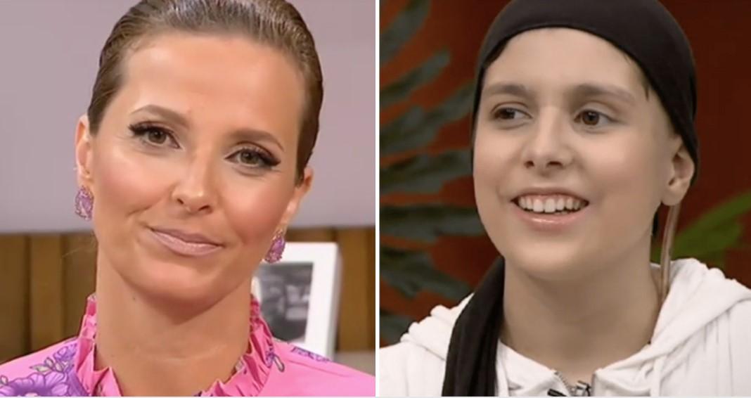 Cristina Ferreira homenageia jovem