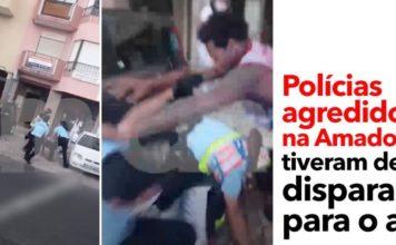 Policia obrigada a disparar
