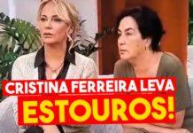 bocas Rita Blanco e Alexandra Lencastre Cristina Ferreira