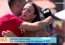"""Foi uma enorme emoção de Iva Domingues no regresso à TVI: """"Tinha muitas saudades"""". Iva Domingues está de volta à estação de Queluz"""