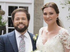 Bruno e Tatiana casam
