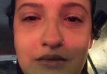 vítima de um namoro abusivo