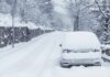 Temperaturas negativas e neve