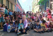 Homem resgata mais 85 mil crianças