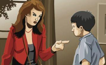 Filho com quem mais brigas