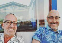 Goucha e Rui Oliveira