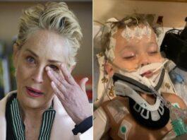 Sobrinho de Sharon Stone quase morreu