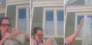 Mulher atira cinzas do marido ao lixo: