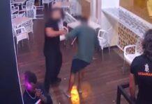 segurança que espancou homem em Albufeira